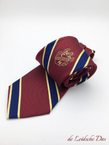 Tie with logo