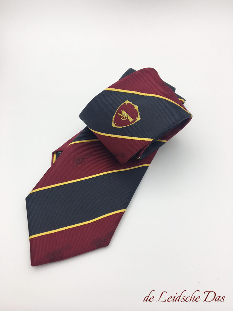 Regimental ties custom made to your own design