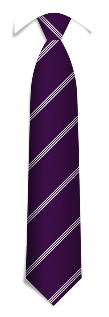 Necktie Pattern Ties with Logo