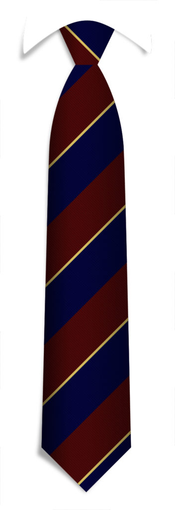 Neckties Pattern Tie with Logo
