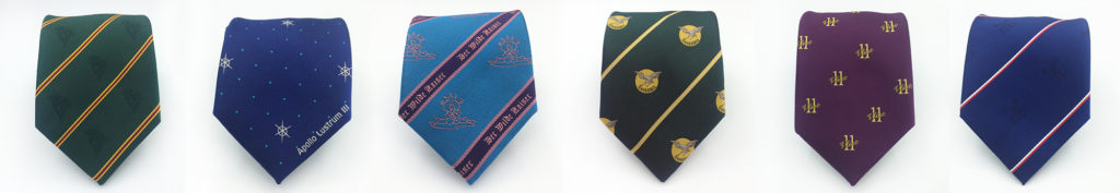 Ties with logo custom made
