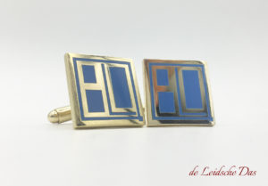 Custom made cufflinks with Logo